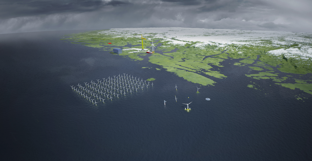 Met Centre overview. Illustration: UNITECH SUBSEA/NORDWEST 3D